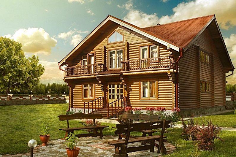 Двухэтажные дома - Строительные материалы