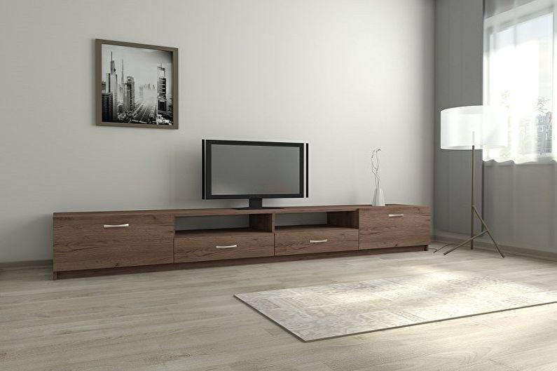 Тумбочка под телевизор - На что обратить внимание при выборе