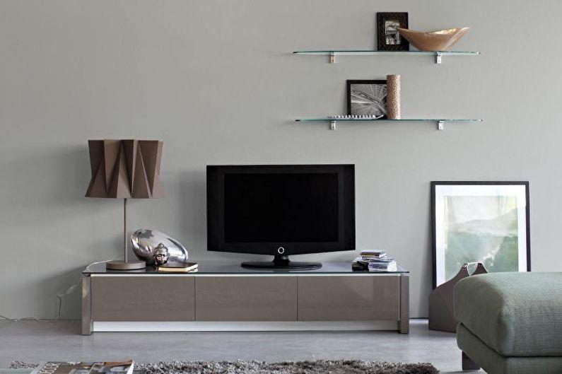 Тумбочки под телевизор - фото