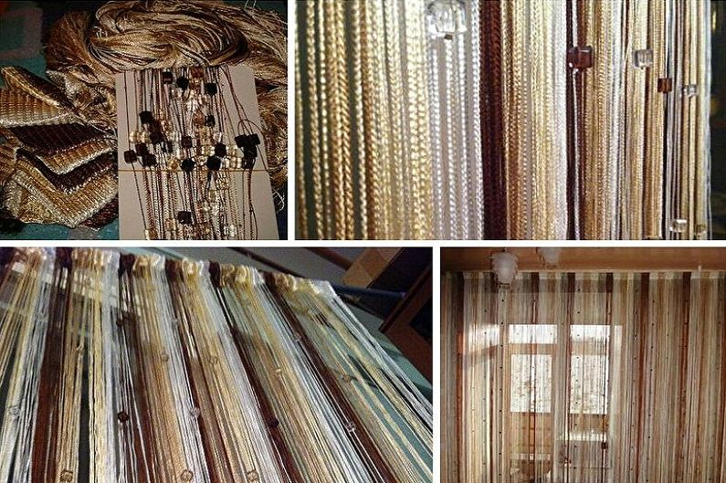 Нитяные шторы - Особенности