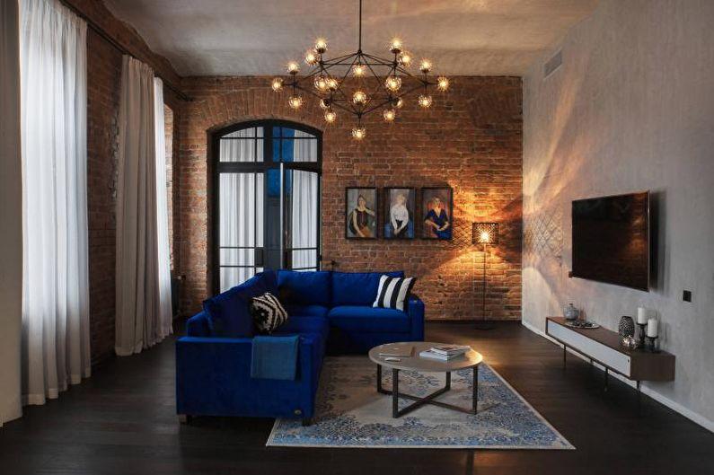 Мебель для гостиной в современном стиле - Лофт