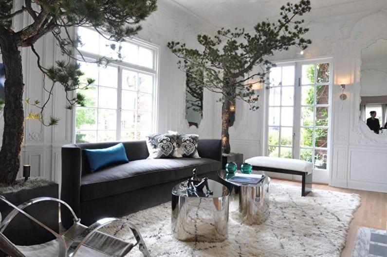 Мебель для гостиной в современном стиле - Эко-стиль