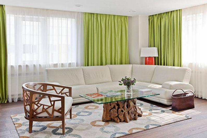 Мебель для гостиной в современном стиле - фото