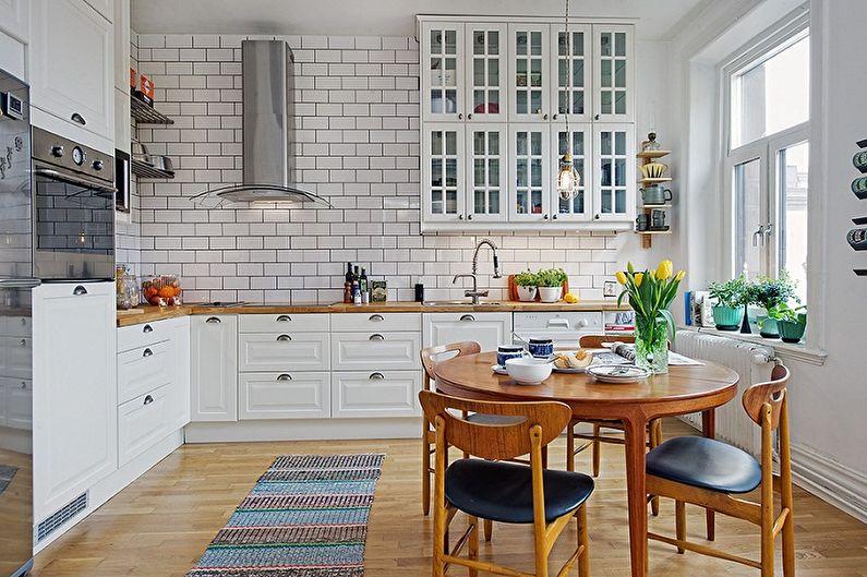 Дизайн кухни в скандинавском стиле - Цветовые решения