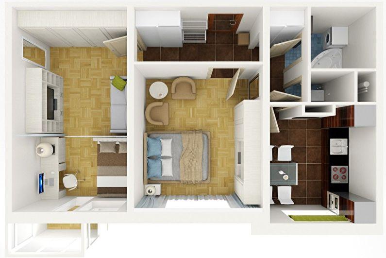 Перепланировка квартиры в хрущевке - С чего начать