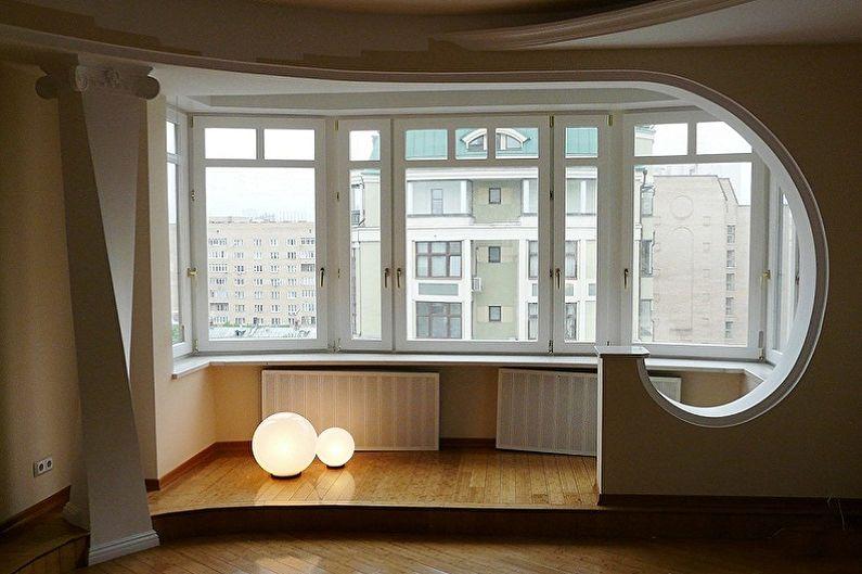 Перепланировка однокомнатной квартиры в хрущевке - Проект 2