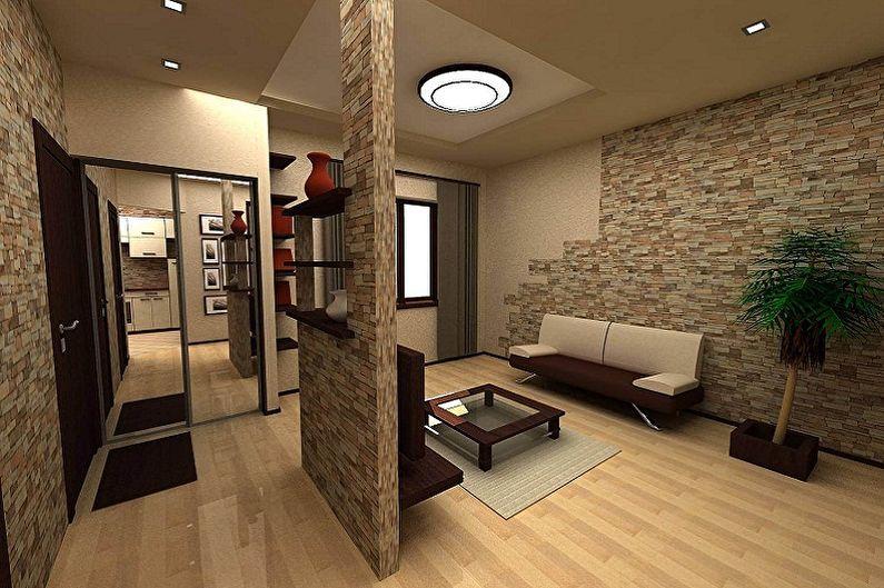 Перепланировка квартиры в хрущевке - фото и проекты