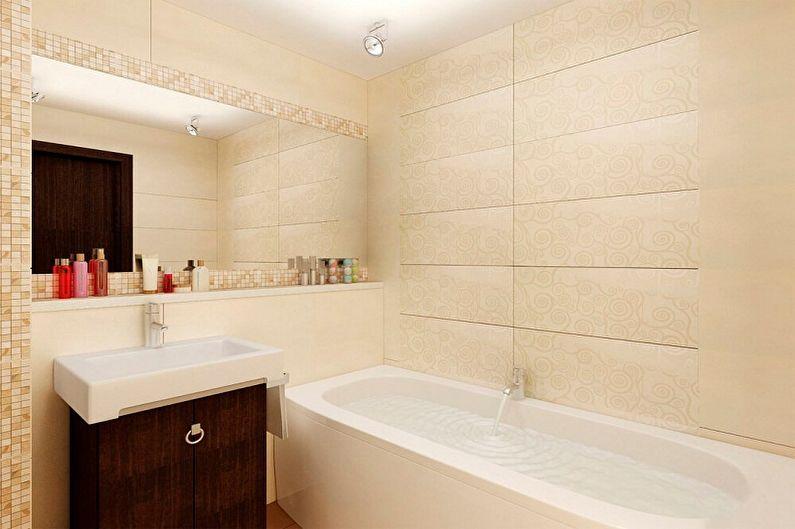 Дизайн ванной комнаты 2 кв.м. - Цветовые решения