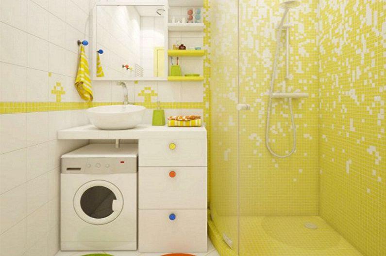 Дизайн ванной комнаты 2 кв.м. - Мебель и сантехника