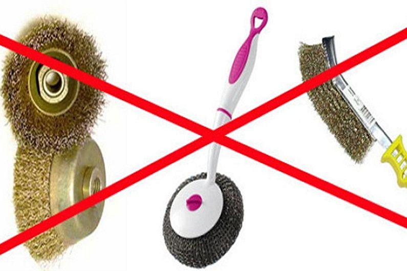 Как очистить чугунную ванну - Что нельзя делать при чистке ванны