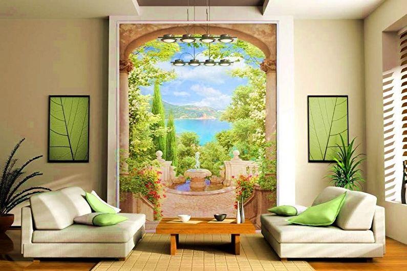 Настенные фрески на флизелине