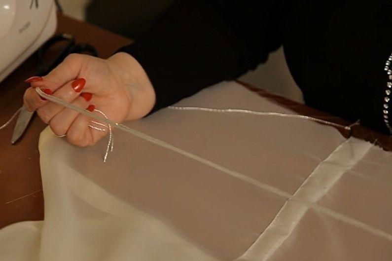 Французские шторы своими руками