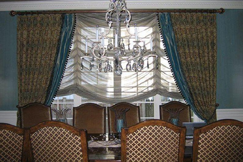 Французские шторы - фото