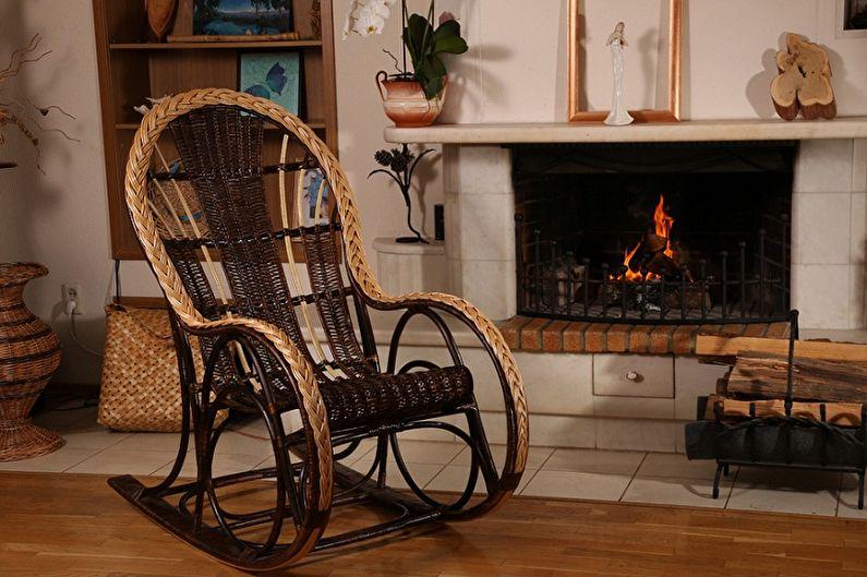 Кресло-качалка своими руками (65+ фото)