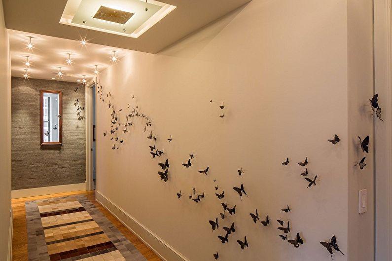 Бабочки на стену (75 фото): декор своими руками