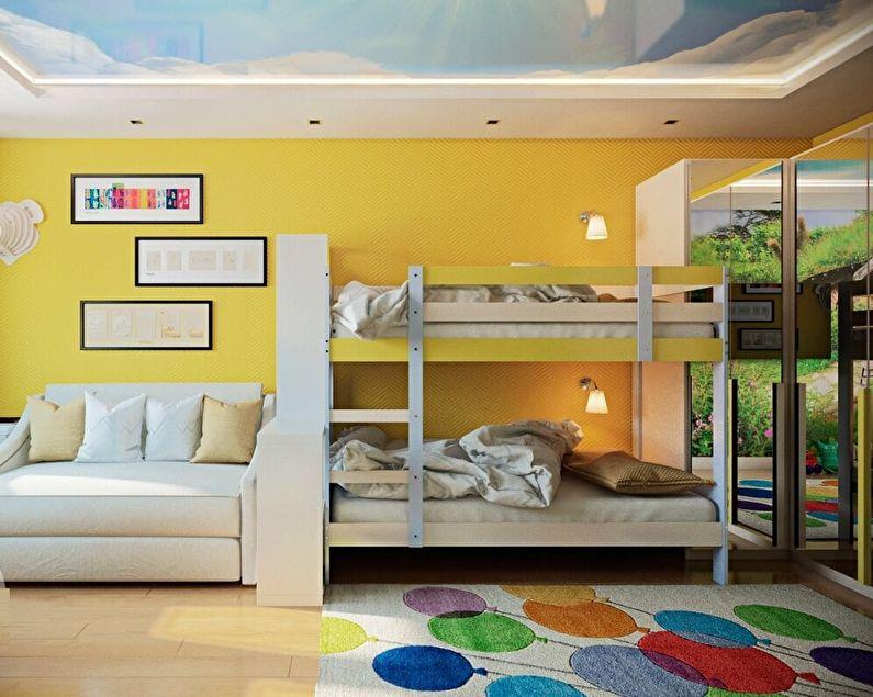 Цветовые решения для комнаты родителей и ребенка