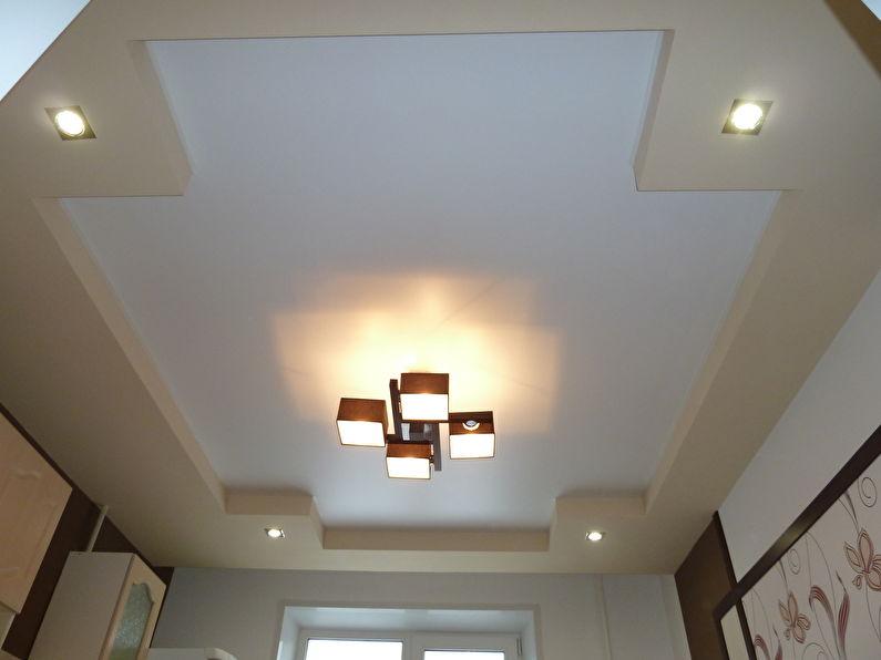 Люстры - потолок из гипсокартона