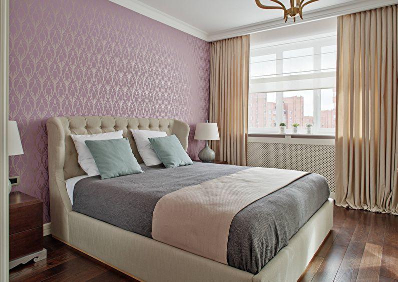 Kertas Dinding Abu Neutral Penyelesaian Optimum Untuk Bilik Tidur Dalam A Berteknologi Tinggi Moden Minimalis Loteng