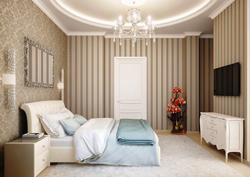 обои для спальни 65 фото комбинирование обоев в спальне идеи