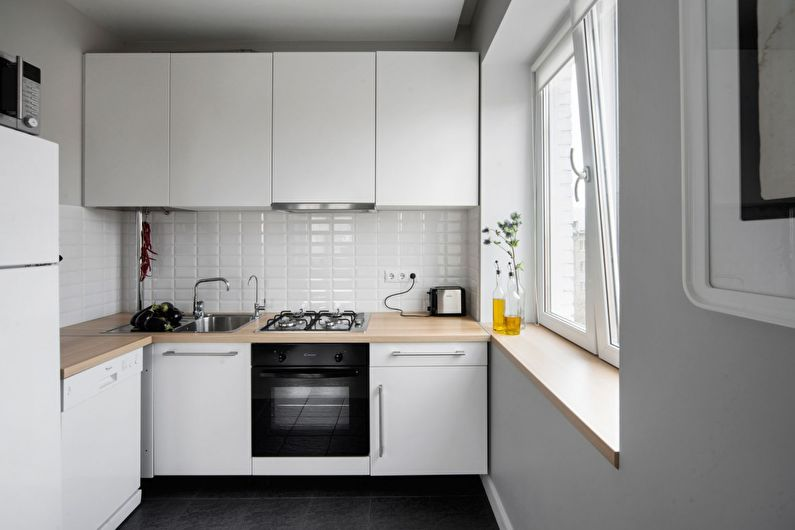 Кухонный гарнитур - дизайн кухни в скандинавском стиле