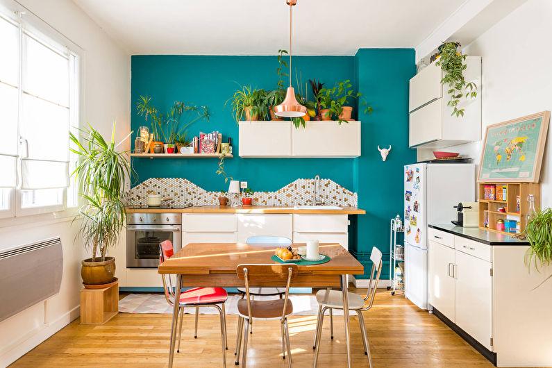 Декор и аксессуары - дизайн кухни в скандинавском стиле
