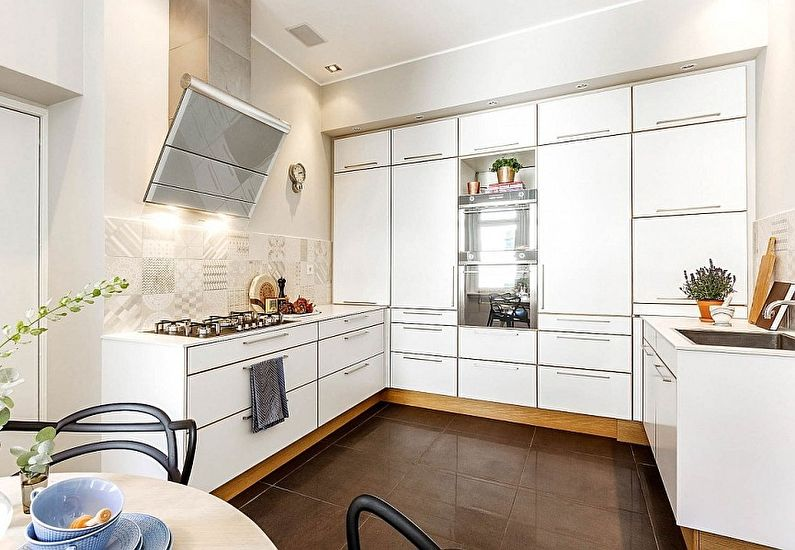 Минималистичная кухня в скандинавском стиле - дизайн интерьера