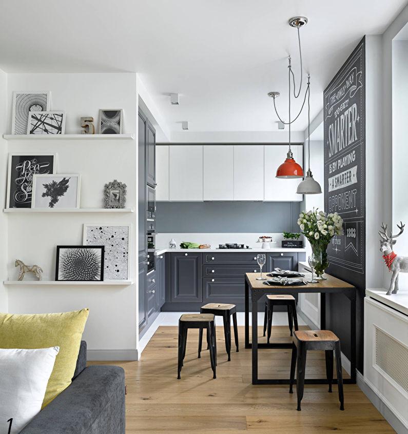 Дизайн интерьера кухни в хрущевке