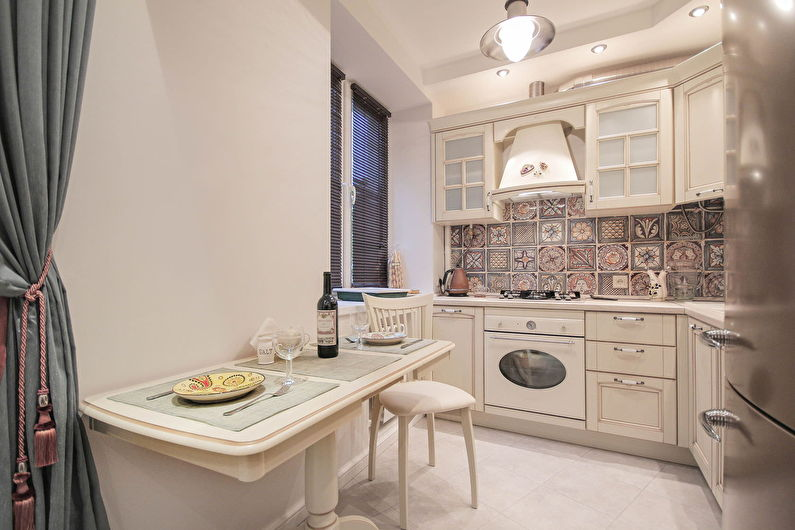 Дизайн кухни в хрущевке - стиль прованс