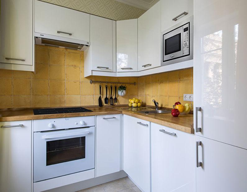Кухонный гарнитур - дизайн кухни в хрущевке