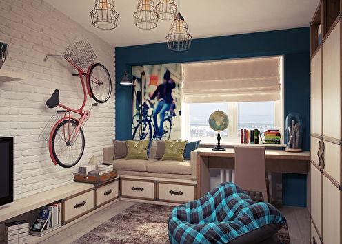Интерьер детской комнаты для подростка, Симферополь