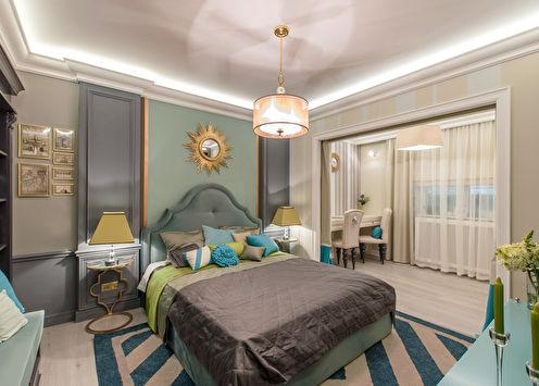 Американская спальня от Tony House