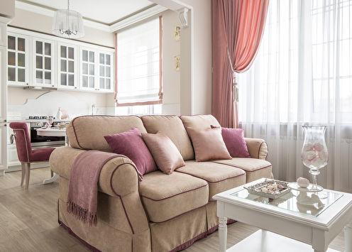 Парижское суфле: маленькая квартира в стиле прованс