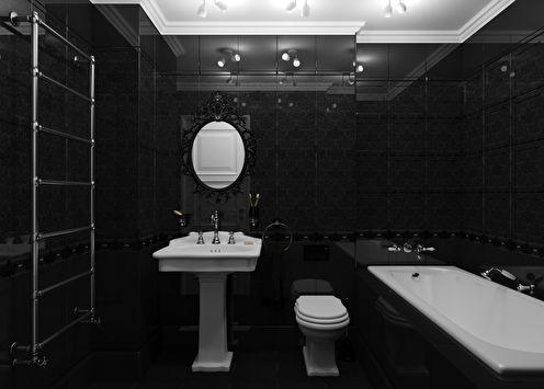 Ванная комната Valentino in black
