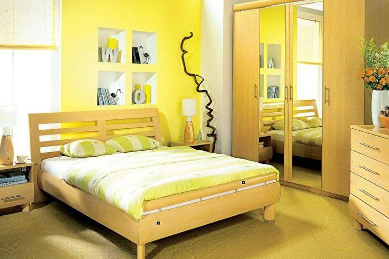 Сочетание цветов в интерьере спальни - Как выбрать