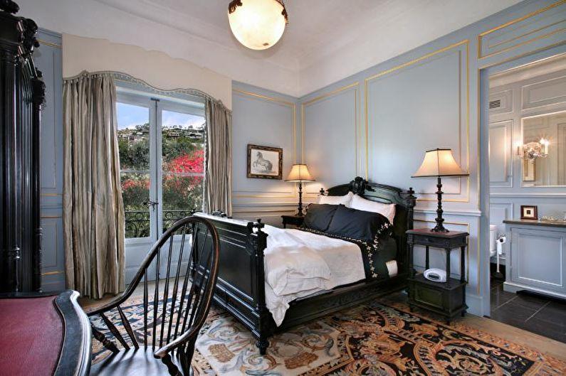 Спальня в классическом стиле - Сочетание цветов в интерьере спальни