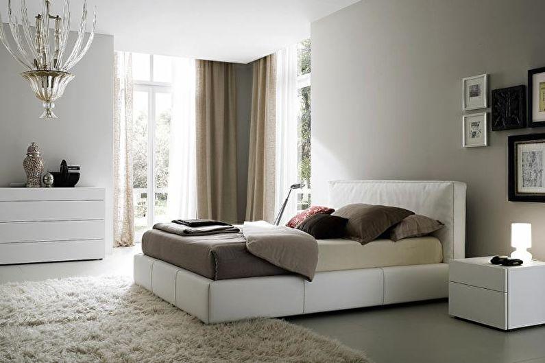 Спальня в современном стиле - Сочетание цветов в интерьере спальни