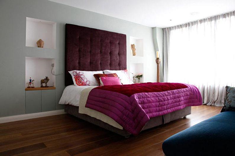 Спальня в стиле модерн - Сочетание цветов в интерьере спальни