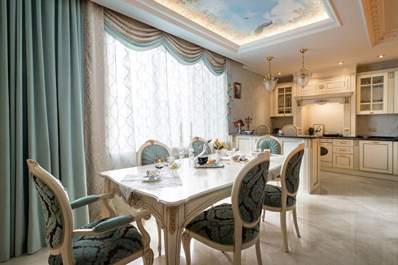 Кухня 20 кв.м. в классическом стиле - Дизайн интерьера