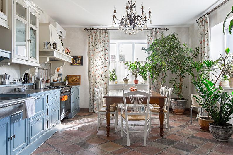 Кухня 20 кв.м. в стиле прованс - Дизайн интерьера