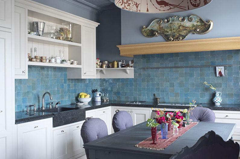 Кухня 20 кв.м. в стиле фьюжн - Дизайн интерьера