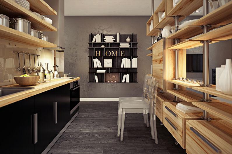 Дизайн кухни 20 кв.м. - Декор и текстиль