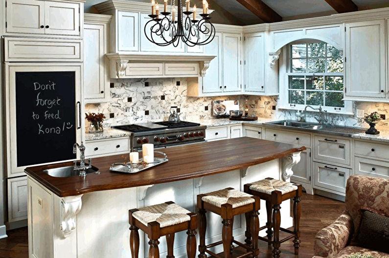 Дизайн кухни 20 кв.м. - Мебель