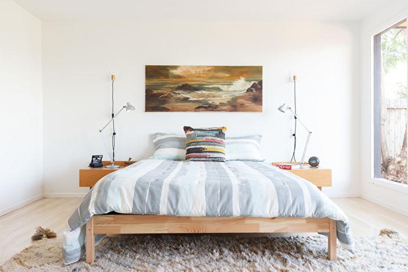 Дизайн спальни в скандинавском стиле - Мебель