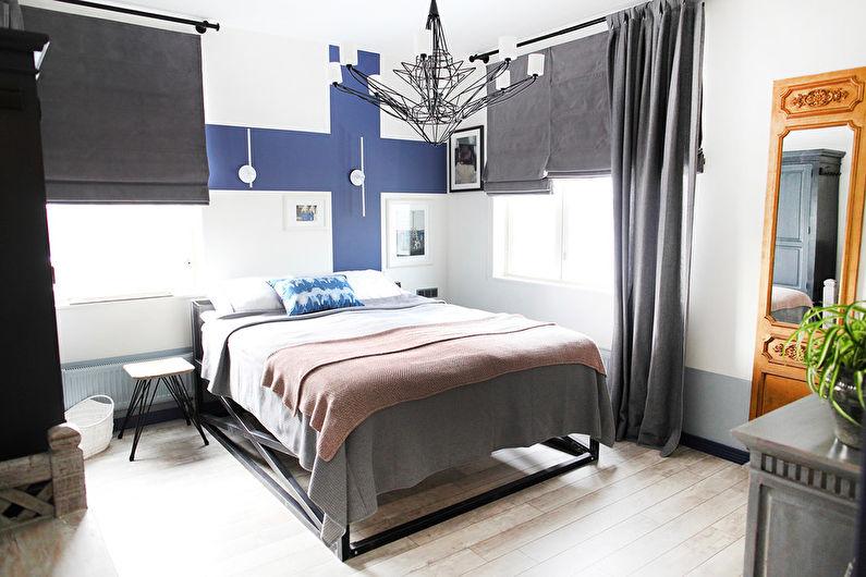 Дизайн интерьера спальни в скандинавском стиле - фото