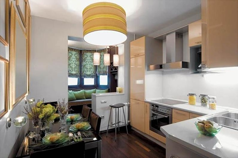 Дизайн кухни 14 кв.м. - Декор и текстиль