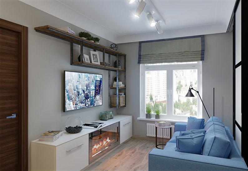 интерьер кухни гостиной в стиле лофт идеи интерьеров