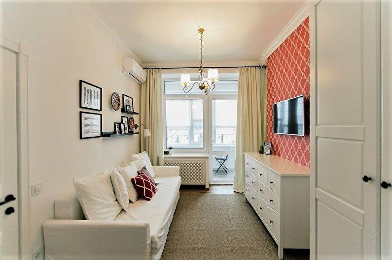 Banyak Pemilik Apartemen Yang Didirikan Di Bangunan Multi Lantai Modern Dan Soviet Bertemu Dengan Ruang Tamu Sempit Dibandingkan Alun