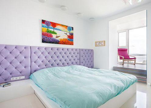 Сочетание цветов в интерьере спальни: 70 идей