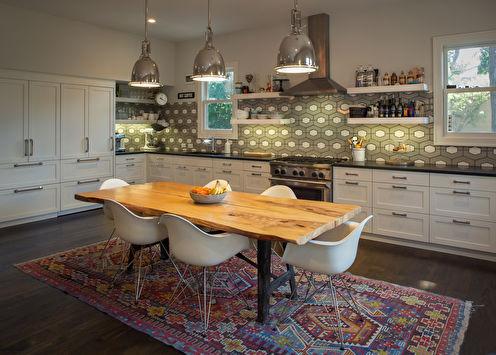 Дизайн кухни 20 кв.м. (+70 фото)