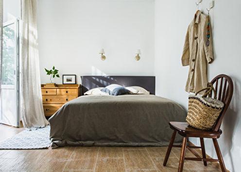 Дизайн спальни в скандинавском стиле (65 фото)